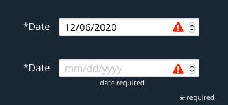 date required val