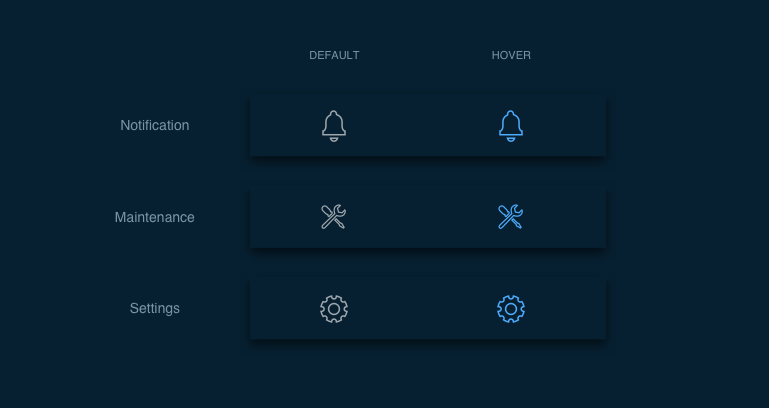 icons utility