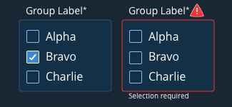 group selection val